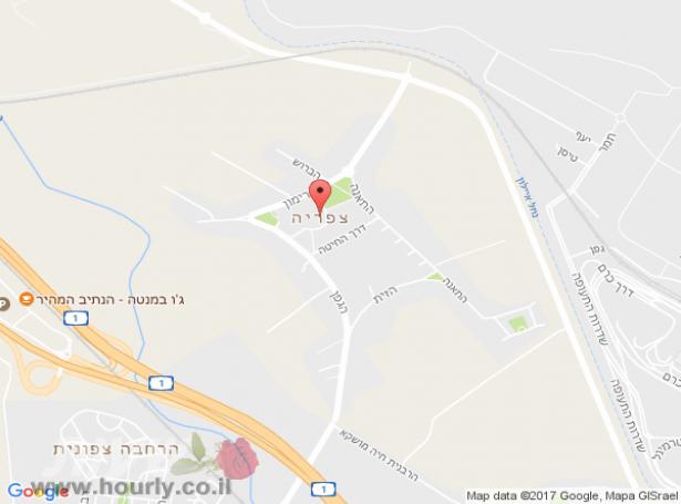 חדרים בצפריה | חדרים בתל אביב וגוש דן
