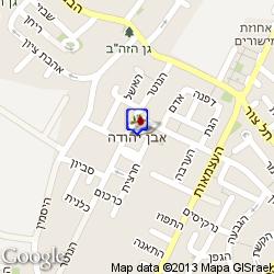 חדר באבן יהודה חדרים לפי שעה מפה