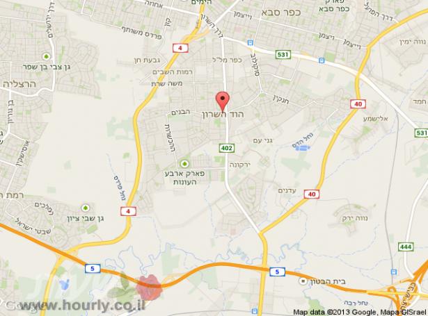 חדרים בהוד השרון | חדרים בתל אביב וגוש דן