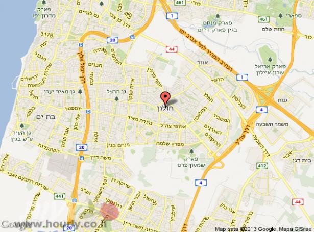 חדרים בחולון   חדרים בתל אביב וגוש דן